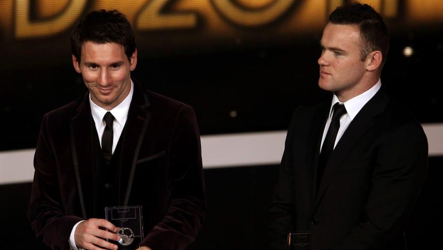 Lionel Messi,Wayne Rooney