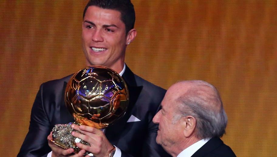 Joseph S.Blatter,Cristiano Ronaldo