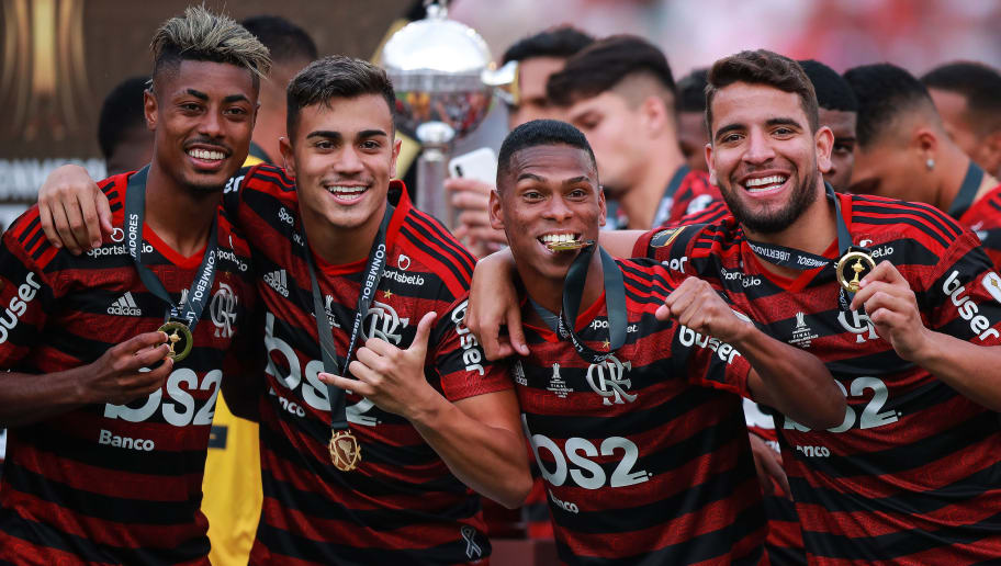 Berrio,Bruno Henrique,Reiner,Pepe