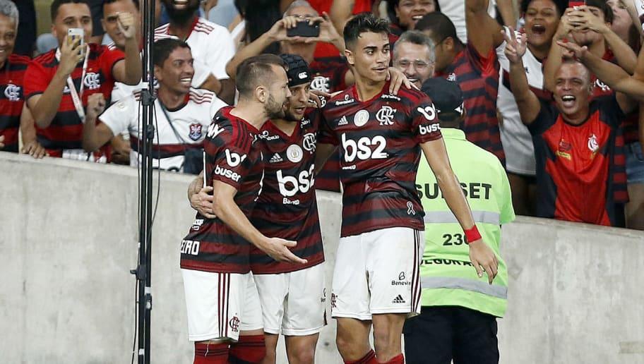 Rafinha,Everton Ribeiro,Reinier
