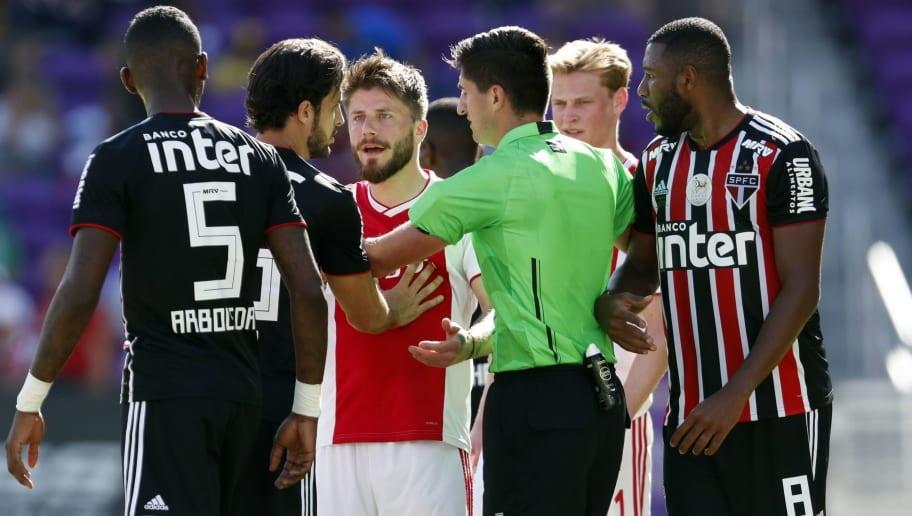 "Florida Cup 2019""Ajax Amsterdam v Sao Paulo FC"""
