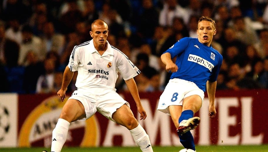 Foot : Real Madrid - Rc Genk / Champ.League