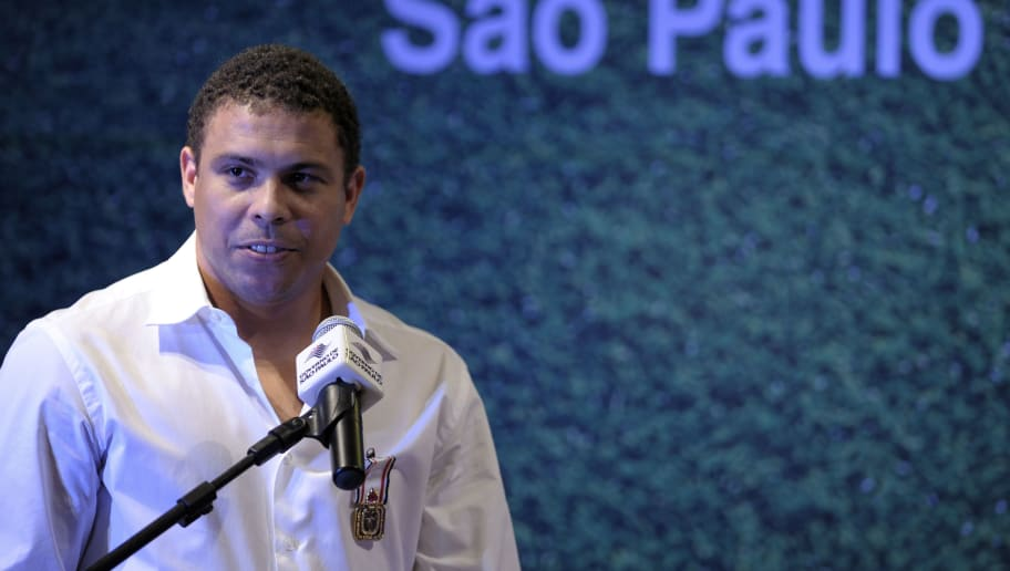 Former Brazilian football star Ronaldo s