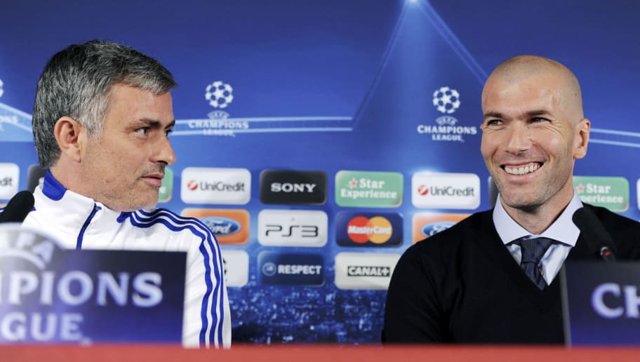 Zinedine Zidane Confirms That he is Not Bothered by Speculation Linking Jose Mourinho to Real Madrid