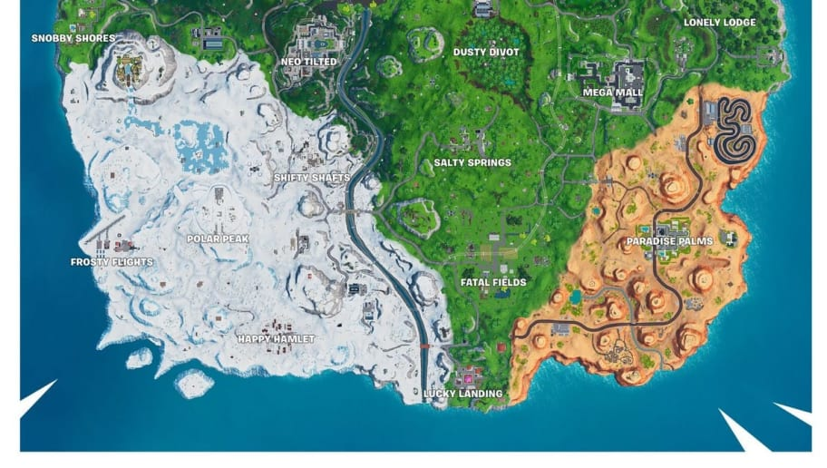 Fortnite Fatal Fields is the home of Fortbyte #24. Here's where to find it.