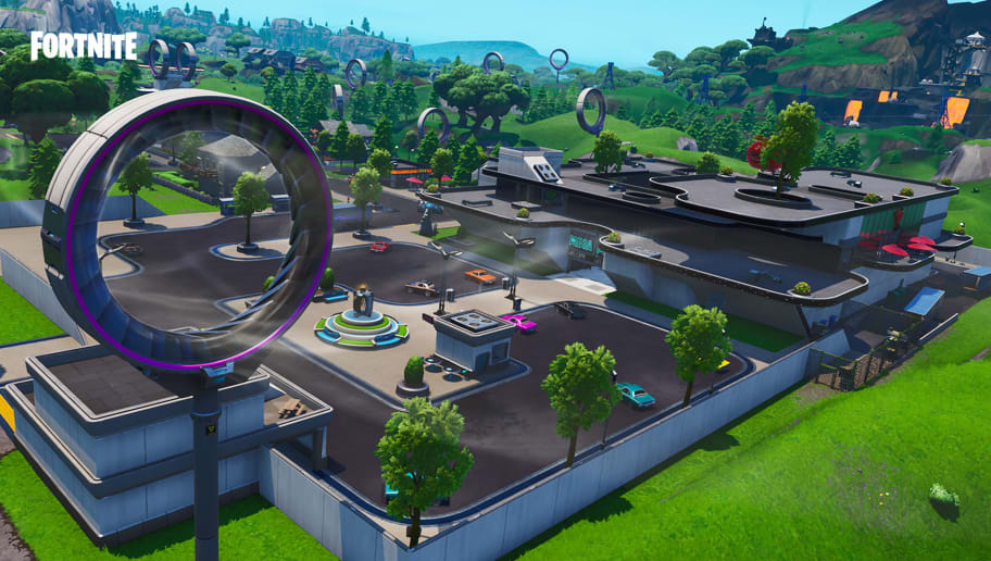 Slipstreams Fortnite are a Season 9 addition, making it easy to fly around the map.