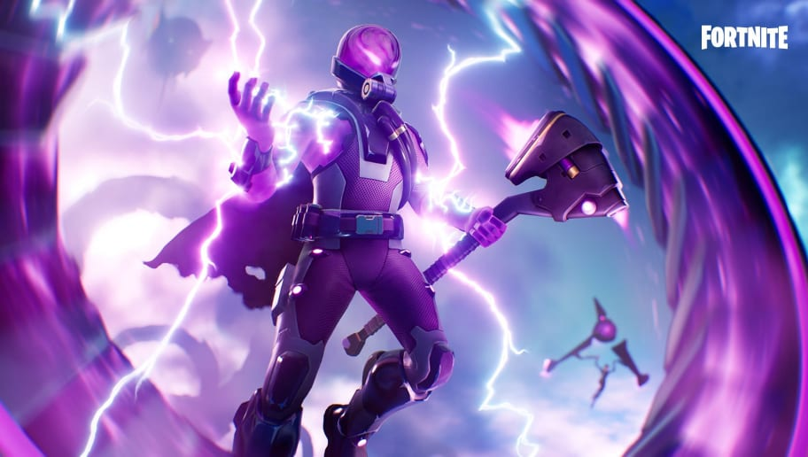 Tempest Fortnite skin revealed on Twitter is an electric purple masterpiece.