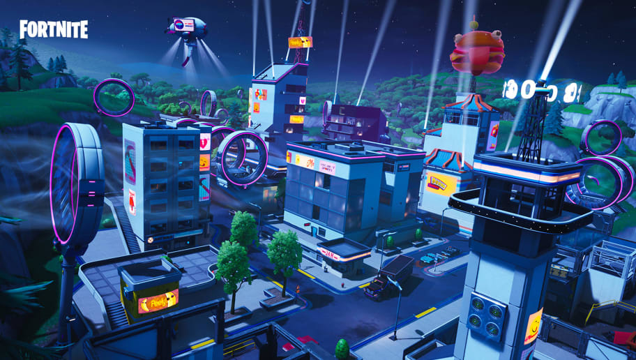 Insurance building Fortnite is the location of Fortbyte #76. Here's where to look.