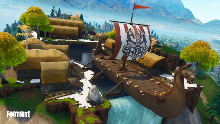 Frozen waterfall Fortnite is the key to picking up Fortbyte #61. Here's where to find it.