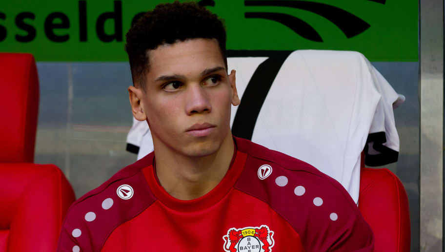 DUESSELDORF, GERMANY - SEPTEMBER 26: Paulinho of Bayer 04 Leverkusen looks on prior the Bundesliga match between Fortuna Duesseldorf and Bayer 04 Leverkusen at Merkur Spiel-Arena on September 26, 2018 in Duesseldorf, Germany. (Photo by TF-Images/Getty Images)