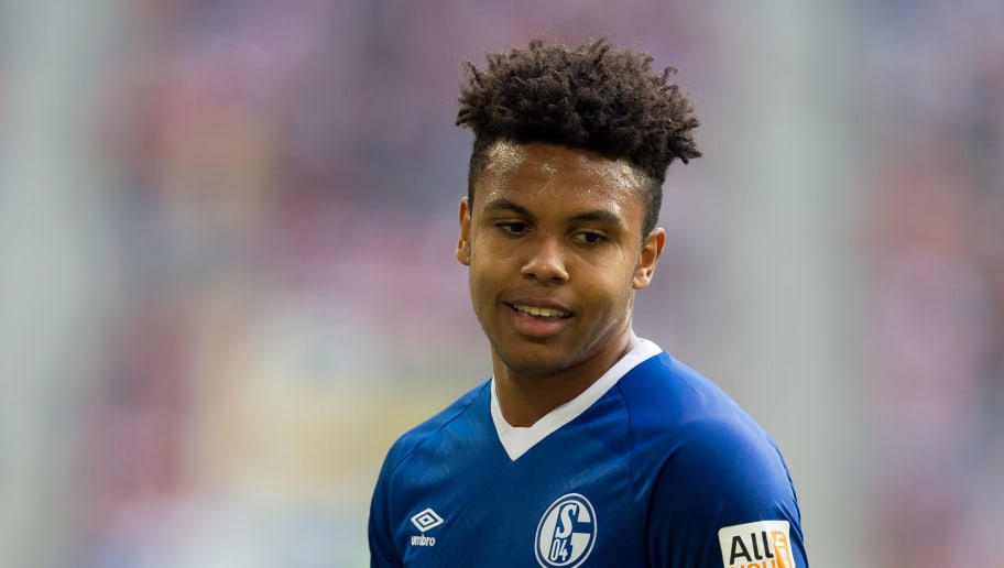DUESSELDORF, GERMANY - OCTOBER 06: Weston McKennie of Schalke looks on during the Bundesliga match between Fortuna Duesseldorf and FC Schalke 04 at Esprit-Arena on October 6, 2018 in Duesseldorf, Germany. (Photo by TF-Images/TF-Images via Getty Images)