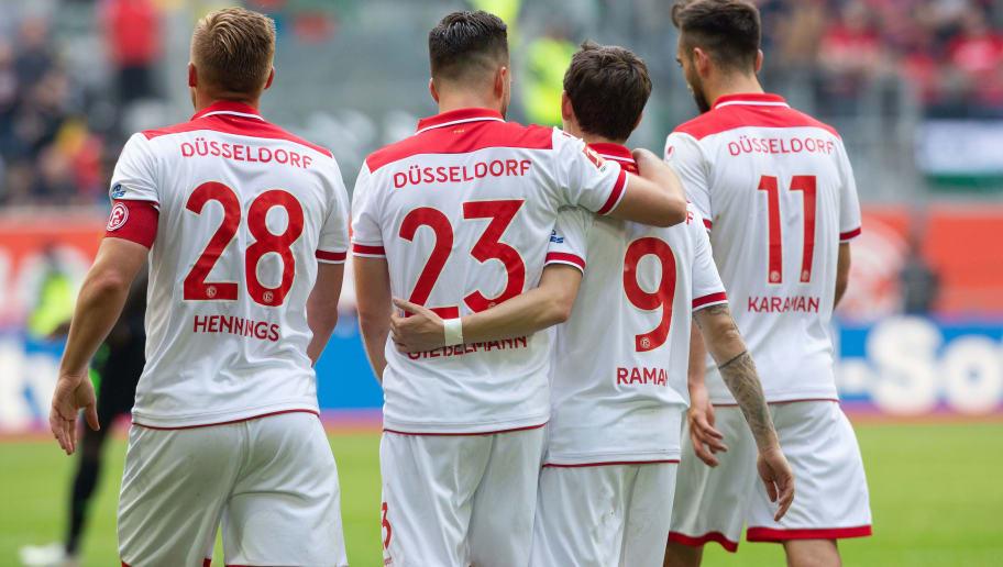 Fortuna Duesseldorf v Hannover 96 - Bundesliga