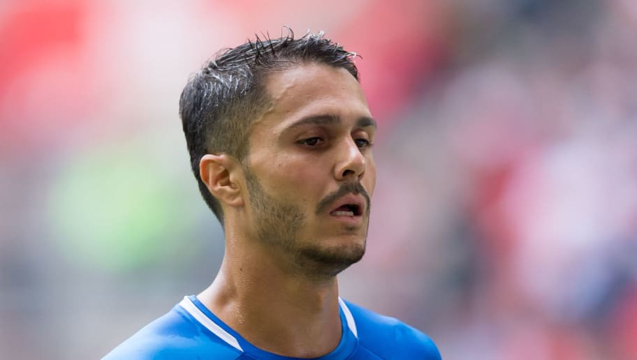 DUESSELDORF, GERMANY - SEPTEMBER 15: Leonardo Bittencourt of Hoffenheim looks on during the Bundesliga match between Fortuna Duesseldorf and TSG 1899 Hoffenheim at Esprit-Arena on September 15, 2018 in Duesseldorf, Germany. (Photo by TF-Images/TF-Images via Getty Images)