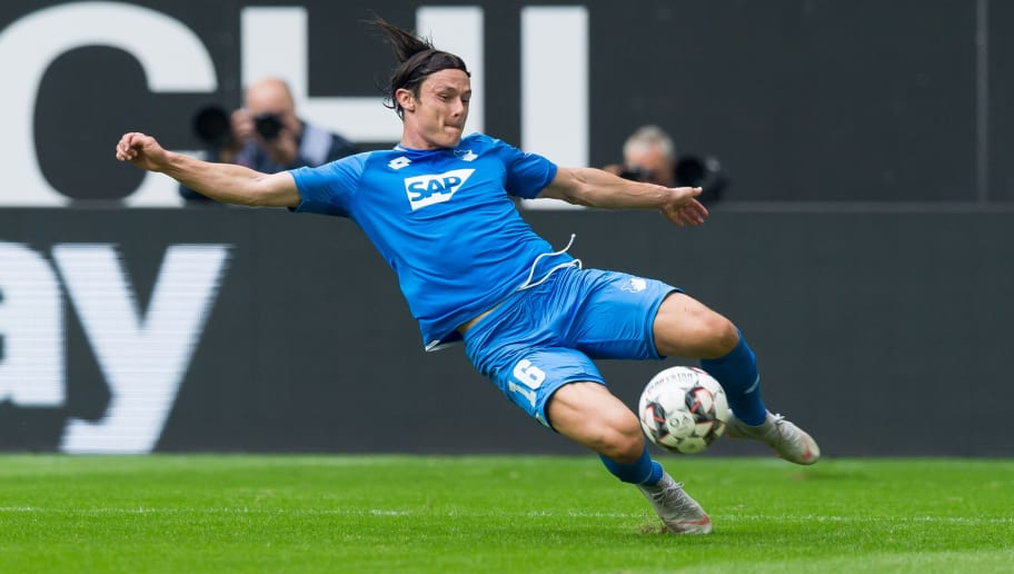 DUESSELDORF, GERMANY - SEPTEMBER 15: Nico Schulz of Hoffenheim of controls the ball during the Bundesliga match between Fortuna Duesseldorf and TSG 1899 Hoffenheim at Esprit-Arena on September 15, 2018 in Duesseldorf, Germany. (Photo by TF-Images/TF-Images via Getty Images)
