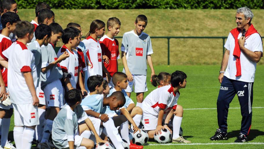 France national football team coach Raym