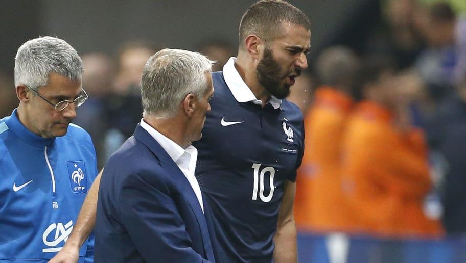 Karim Benzema,Didier Deschamps