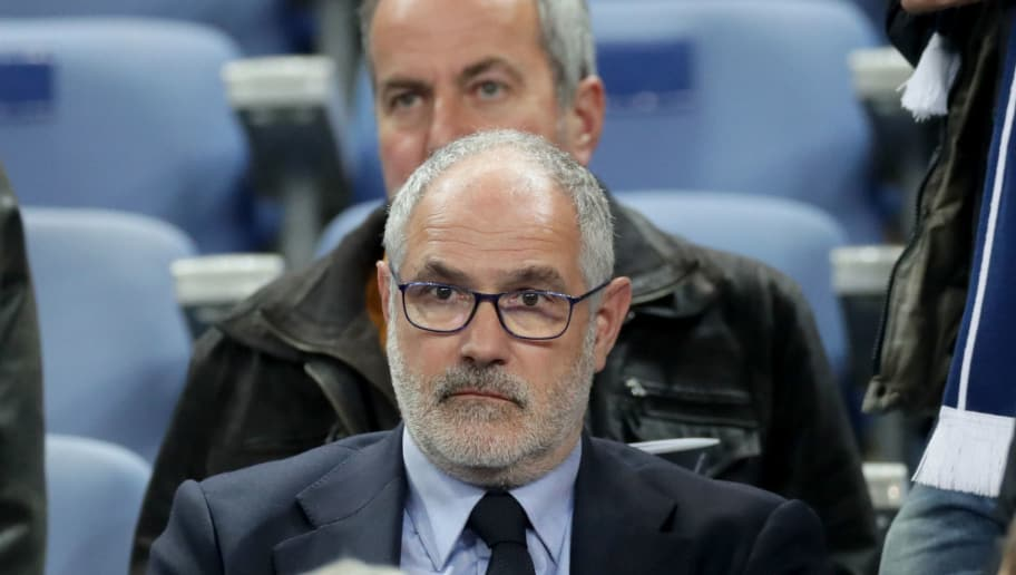 PARIS, FRANCE - OCTOBER 10: Olympique de Marseille sports director Andoni Zubizarreta looks on before the FIFA 2018 World Cup Qualifier between France and Belarus at Stade de France on October 10, 2017 in Paris, .  (Photo by Romain Perrocheau/Getty Images)