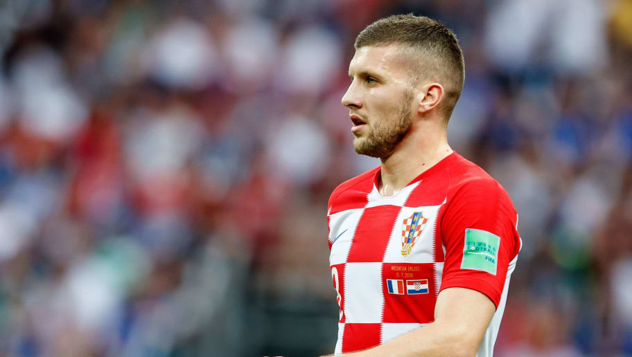 MOSCOW, RUSSIA - JULY 15: Ante Rebic of Croatia looks on during the 2018 FIFA World Cup Russia Final between France and Croatia at Luzhniki Stadium on July 15, 2018 in Moscow, Russia. (Photo by TF-Images/Getty Images)