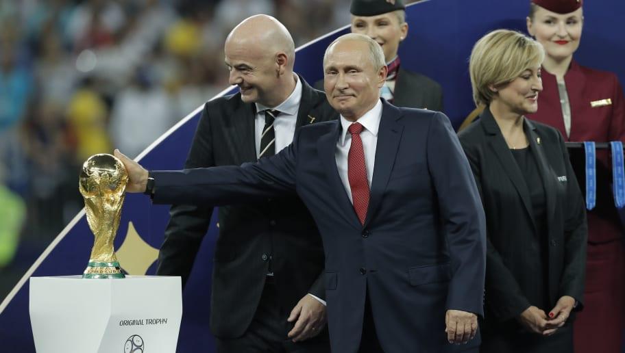 France v Croatia FIFA World Cup 2018 Final