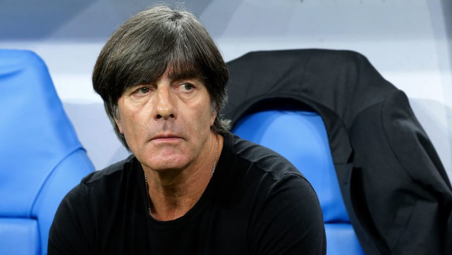 PARIS, FRANCE - OCTOBER 16: coach Joachim Low of Germany  during the  UEFA Nations league match between France  v Germany  at the Stade de France on October 16, 2018 in Paris France (Photo by Jeroen Meuwsen/Soccrates/Getty Images)