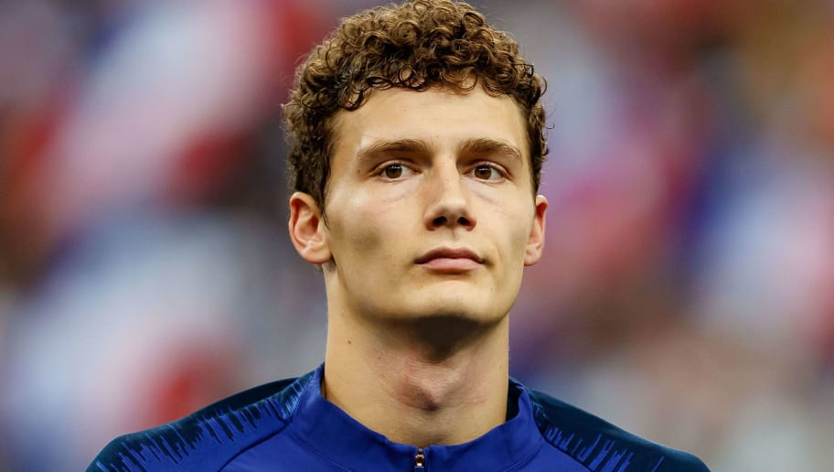 PARIS, FRANCE - OCTOBER 16: Benjamin Pavard of France looks on prior the UEFA Nations League A group one match between France and Germany at Stade de France on October 16, 2018 in Paris, France. (Photo by TF-Images/Getty Images)