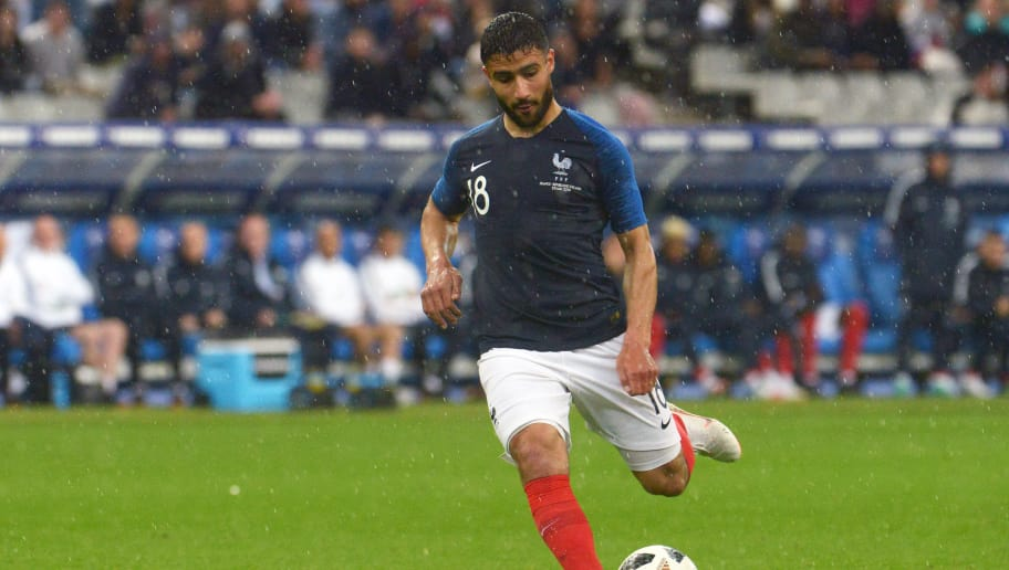 PARIS, FRANCE - MAY 28:  Nabil Fekir forward of France Football team during the friendly match between France and Ireland at Stade de France on May 28, 2018 in Paris, France. The French national football team continue his preparation for the upcoming FIFA 2018 World Cup in Russia with the first friendly match.  (Photo by Frederic Stevens/Getty Images)