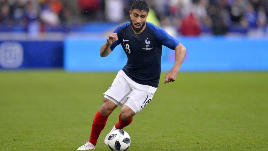 PARIS, FRANCE - MAY 28:  Nabil Fekir of France runs with the ball during the international friendly match between France and Republic of Ireland at Stade de France on May 28, 2018 in Paris, France.  (Photo by Aurelien Meunier/Getty Images)
