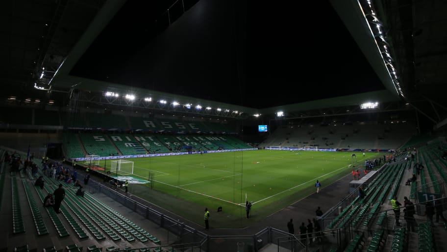 SAINT-ETIENNE, FRANCE - OCTOBER 05: A general view of Stade Geoffroy-Guichard during the friendly match between France Women and Australia Women at Stade Geoffroy-Guichard on October 5, 2018 in Saint-Etienne, France. (Photo by Marc Atkins/Getty Images)