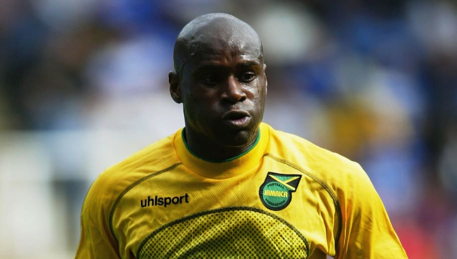 Frank Sinclair of Jamaica in action