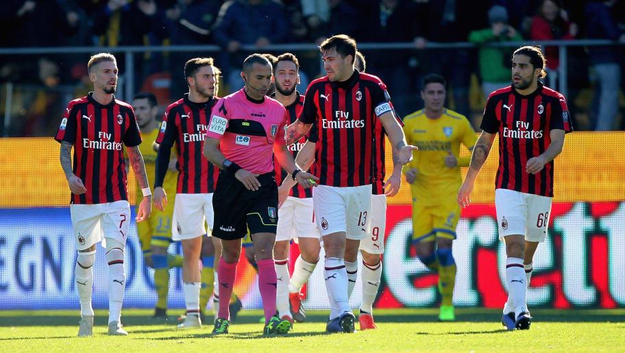 Natiijada sawirka Frosinone 0-0 AC Milan