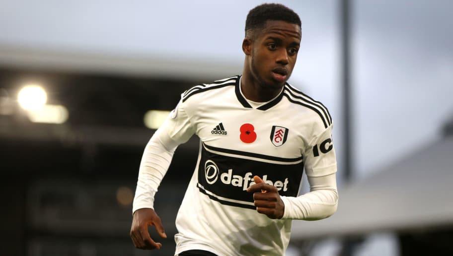 LONDON, ENGLAND - OCTOBER 27: Ryan Sessegnon of Fulham FC during the Premier League match between Fulham FC and AFC Bournemouth at Craven Cottage on October 27, 2018 in London, United Kingdom. (Photo by Chloe Knott - Danehouse/Getty Images)