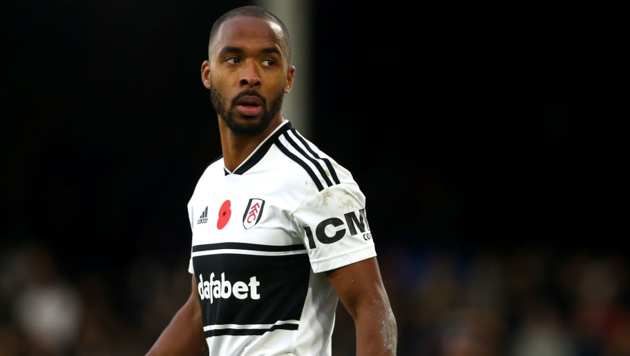 LONDON, ENGLAND - OCTOBER 27: Denis Odoi of Fulham FC during the Premier League match between Fulham FC and AFC Bournemouth at Craven Cottage on October 27, 2018 in London, United Kingdom. (Photo by Chloe Knott - Danehouse/Getty Images)