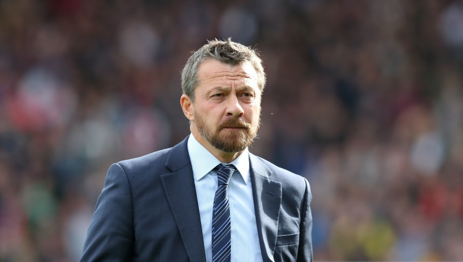 LONDON, ENGLAND - OCTOBER 07: Fulham manager \ head coach Slavisa Jokanovic during the Premier League match between Fulham FC and Arsenal FC at Craven Cottage on October 7, 2018 in London, United Kingdom. (Photo by James Williamson - AMA/Getty Images)