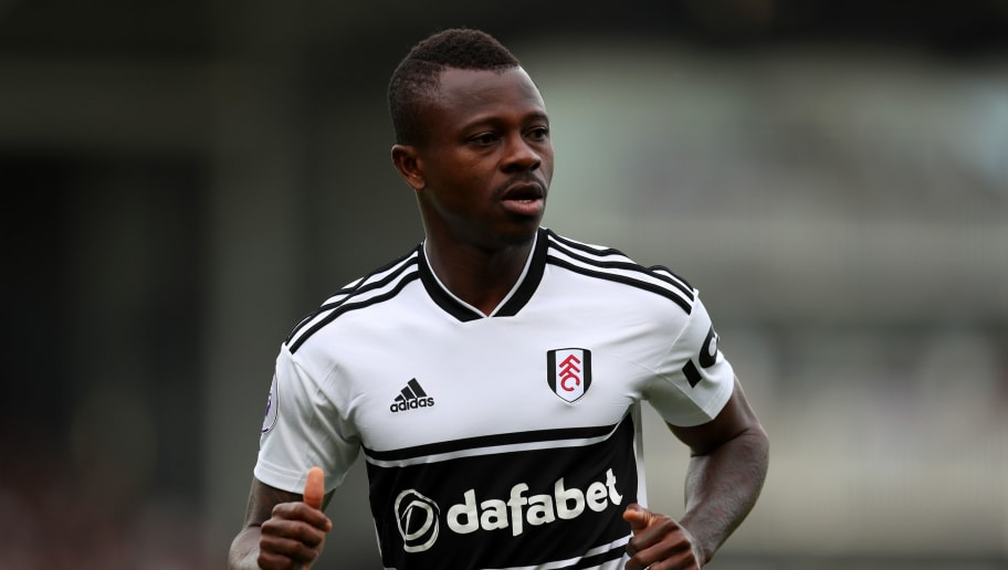 LONDON, ENGLAND - OCTOBER 07: Jean Michael Seri of Fulham during the Premier League match between Fulham FC and Arsenal FC at Craven Cottage on October 7, 2018 in London, United Kingdom. (Photo by Catherine Ivill/Getty Images)