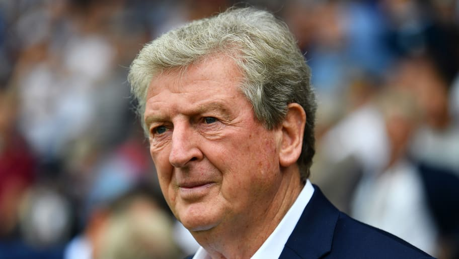 LONDON, ENGLAND - AUGUST 11:  Roy Hodgson, Manager of Crystal Palace during the Premier League match between Fulham FC and Crystal Palace at Craven Cottage on August 11, 2018 in London, United Kingdom. (Photo by Justin Setterfield/Getty Images)