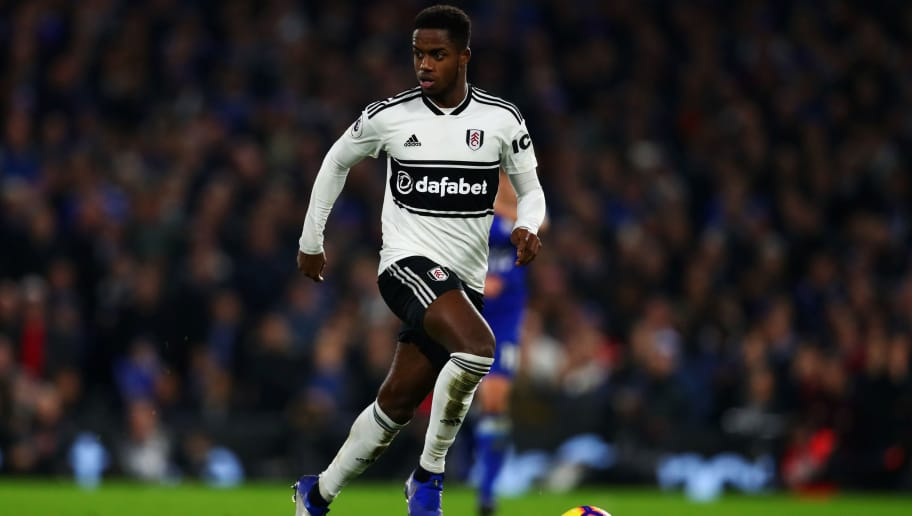 LONDON, ENGLAND - DECEMBER 05:  Ryan Sessegnon of Fulham runs with the ball during the Premier League match between Fulham FC and Leicester City at Craven Cottage on December 05, 2018 in London, United Kingdom. (Photo by Dan Istitene/Getty Images)