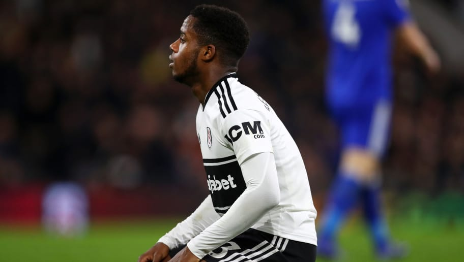 LONDON, ENGLAND - DECEMBER 05: Ryan Sessegnon of Fulham reacts after a missed chance during the Premier League match between Fulham FC and Leicester City at Craven Cottage on December 5, 2018 in London, United Kingdom. (Photo by Dan Istitene/Getty Images)