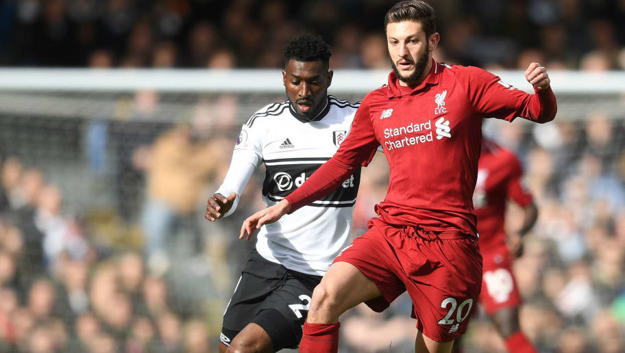 Liverpool Boss Jurgen Klopp Happy With Adam Lallana's Performance In the 'Jorginho Role'