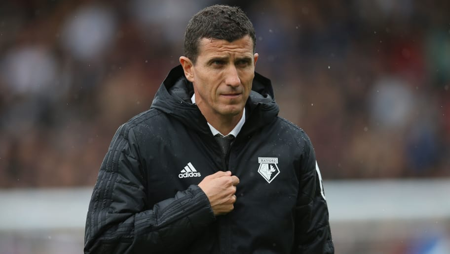 LONDON, ENGLAND - SEPTEMBER 22: Javi Gracia, Manager of Watford looks on prior to the Premier League match between Fulham FC and Watford FC at Craven Cottage on September 22, 2018 in London, United Kingdom. (Photo by Steve Bardens/Getty Images)
