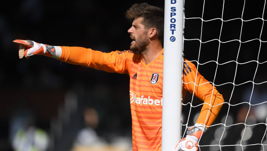 LONDON, ENGLAND - AUGUST 04:  Fabri of Fulham in action during a Pre-Season Friendly between Fulham and Celta Vigo at Craven Cottage on August 4, 2018 in London, England.  (Photo by Mike Hewitt/Getty Images)