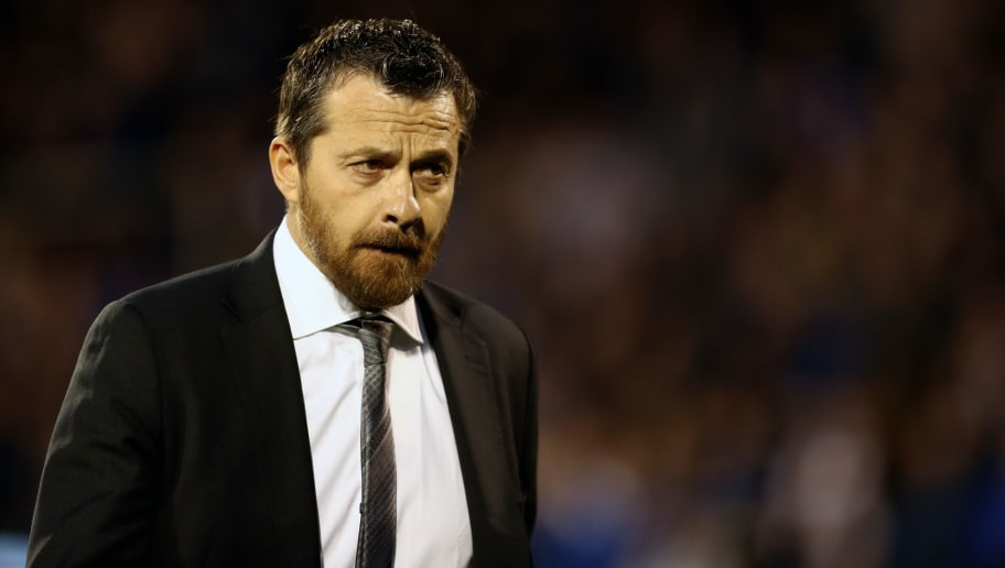 LONDON, ENGLAND - APRIL 03: Slavisa Jokanovic manager of Fulham during the Sky Bet Championship match between Fulham and Leeds United at Craven Cottage on April 3, 2018 in London, England. (Photo by Catherine Ivill/Getty Images)
