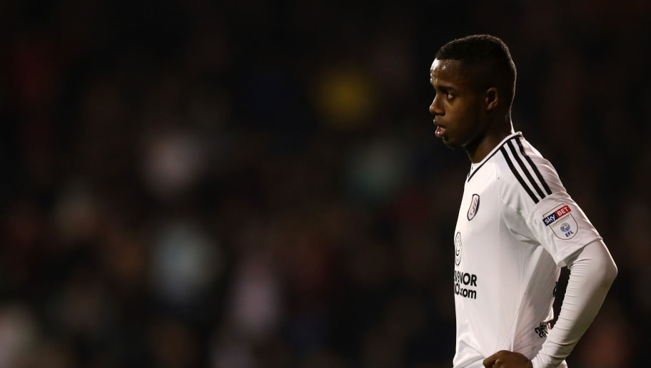 LONDON, ENGLAND - APRIL 27: Ryan Sessegnon of Fulham during the Sky Bet Championship match between Fulham and Sunderland at Craven Cottage on April 27, 2018 in London, England. (Photo by Catherine Ivill/Getty Images)
