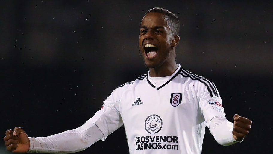 LONDON, ENGLAND - APRIL 27:  Ryan Sessegnon of Fulham FC celebrates at the end of the Sky Bet Championship match between Fulham and Sunderland at Craven Cottage on April 27, 2018 in London, England.  (Photo by Catherine Ivill/Getty Images)