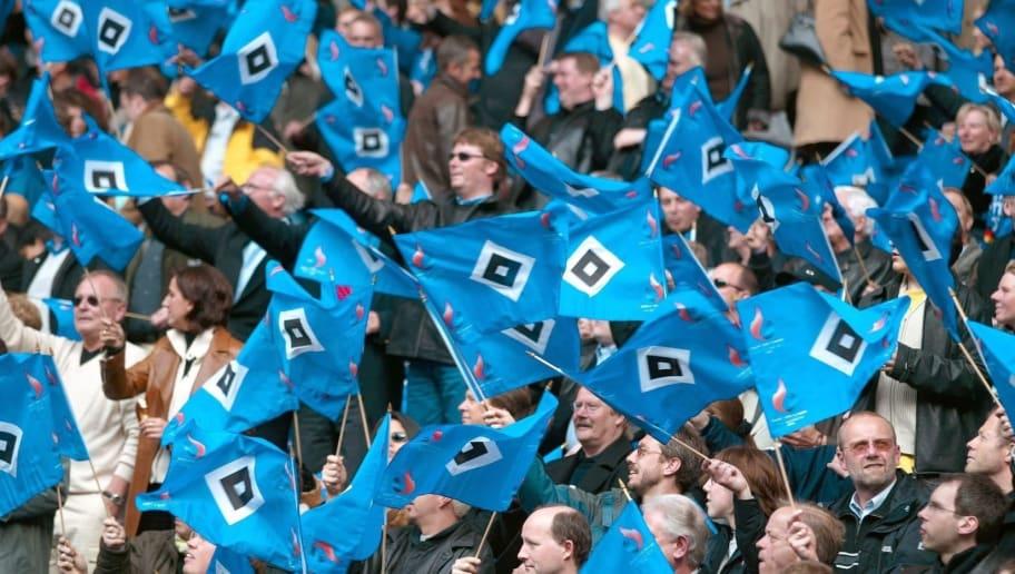 Fussball: 1. Bundesliga 02/03, HSV - Arminia Bielefeld 1:0