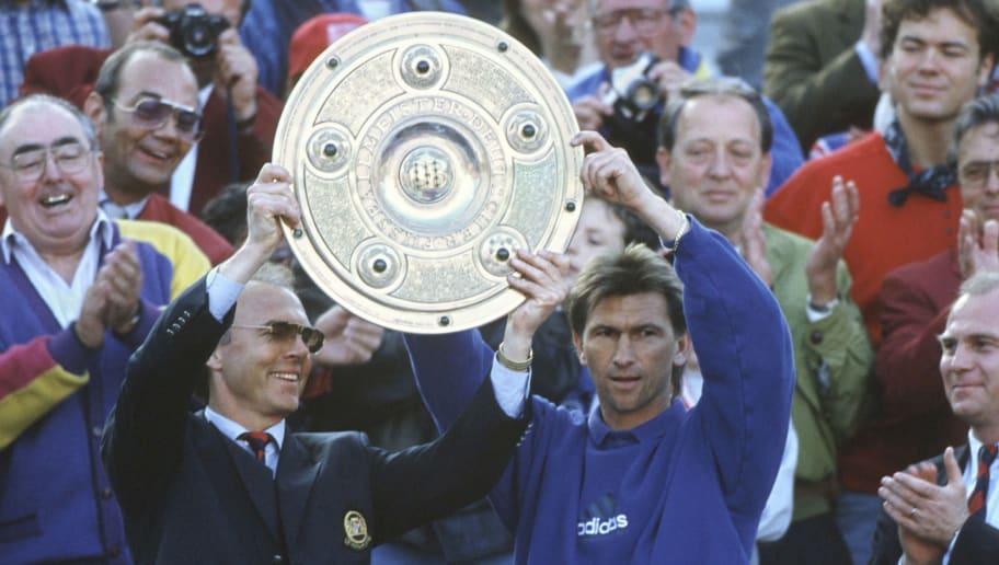 Fussball: 1. Bundesliga 93/94