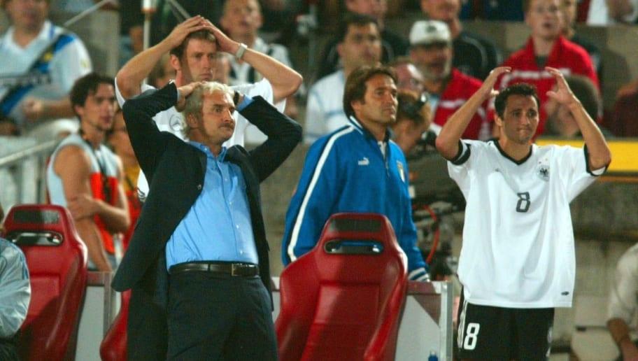 Fussball: Laenderspiel 2003, GER - ITA