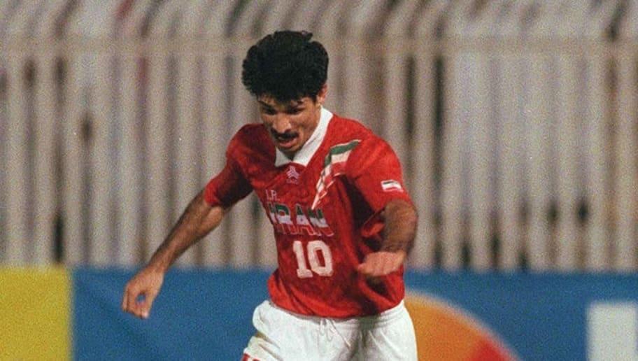 FUSSBALL: WM QUALIFIKATION IRAN, 07.11.97