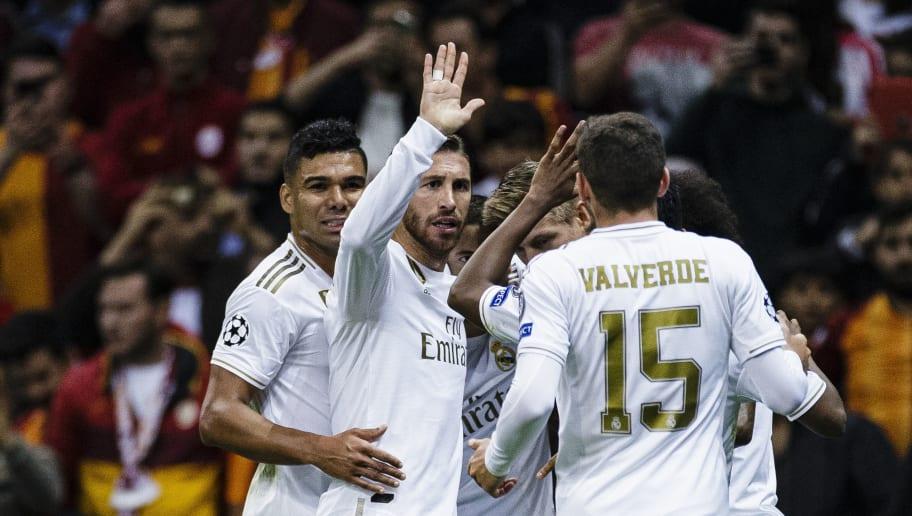 Galatasaray v Real Madrid: Group A - UEFA Champions League