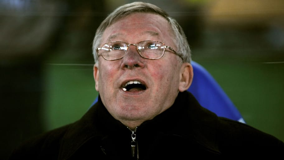 YOKOHAMA, JAPAN - DECEMBER 18:  Sir Alex Ferguson the Manchester United manager before the FIFA Club World Cup Japan 2008 Semi Final match between Gamba Osaka and Manchester United  at the International Stadium on December 18, 2008 in Yokohama, Japan.  (Photo by Shaun Botterill/Getty Images)