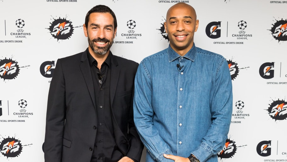 Robert Pires,Thierry Henry